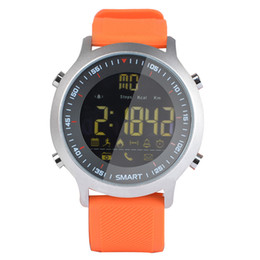 $enCountryForm.capitalKeyWord NZ - Outdoor EX18 waterproof smart watch long standby luminous dial movement counter step call reminder alarm reminder watch