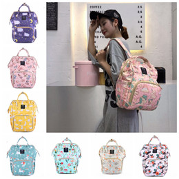 $enCountryForm.capitalKeyWord Australia - Diaper Bags Backpacks Brand Baby Diaper Bags Printed Nappy Maternity Backpack Designer Nursing Bag Baby Care Tote 15 Latest Designs DHW2553