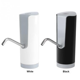automatic water bottle dispenser NZ - Wireless Electric Automatic Bottle Drinking Water Pump Dispenser Rechargeable Electric Drinking Water Bottle Pump