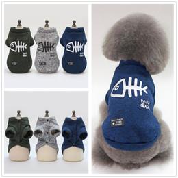 $enCountryForm.capitalKeyWord NZ - Fish Bone Dog Jackets Puppy Coats Winter Warm Dogs Clothes Cute Small Doggy Clothing Pet Supplies apparel