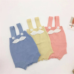 $enCountryForm.capitalKeyWord Australia - Winter Spring Baby Girls Rompers INS New Autumn Infant Angle Back Jumpsuit Kids Girls Sweater Bodysuit Front Button Babies Oneise
