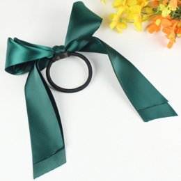 Wholesale Sweet Oversized Ribbon Bowknot Hairbands for Women Korean Fashion Popular Hair Jewelry Rope for Female Beauty Forever Hair