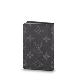 Belt clutch online shopping - Organizer Pocket M61696 Men Belt Bags Exotic Leather Bags Iconic Bags Clutches Portfolio Wallets Purse