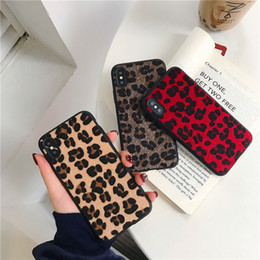 hot sales iphone case Australia - Fashion Hot Sale Tiger Leopard Print Panther Soft Phone Case For iPhone 7 plus 6S 6S plus 8 8plus X XR XS Mobile phone shell case
