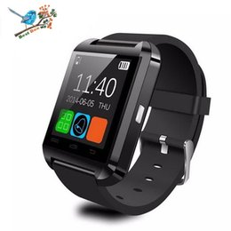 $enCountryForm.capitalKeyWord Australia - U8 Bluetooth Smart Watch Touch Screen Wrist Watches For iPhone 7 IOS Samsung S8 Sleeping Monitor Anti-lost with retail package