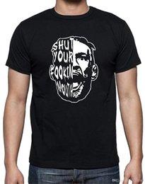 Großhandel Conor McGregor 'SHUT YOUR MUND' T-Shirt