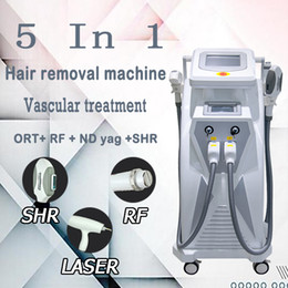 Discount best hair for face - Best 3 handpieces ipl rf e-light shr opt Q Switch Nd yag laser hair and tattoo removal laser for sale