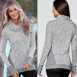 Scarf Square Cotton Australia - New Fashion Autumn Outwear Women Sweatshirt Loose Casual Long Sleeve Scarf Collar Pullover Long Tops Shirt Sweatshirts