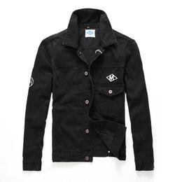 $enCountryForm.capitalKeyWord Australia - High Street Autumn And Winter Trend Man Cowboy Jacket Even Cap Zipper Decorate Fashion Locomotive Loose Coat