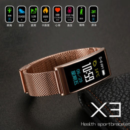 $enCountryForm.capitalKeyWord Australia - Smartch X3 Smart Bracelet IP68 Waterproof Swimming GPS Activity Tracker Heart Rate Monitor Blood Pressure Sleep Fitness Tracker