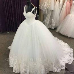 $enCountryForm.capitalKeyWord Australia - Full Lace Bohemia Sexy Sweep Train A line Wedding Dresses V-neck Short Sleeves Zipper Sash Beading custom made Country wedding gowns