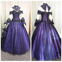 $enCountryForm.capitalKeyWord NZ - 2019 Sweetheart Gothic Wedding Dresses Retro Custom Lace Plus Size Vintage Steampunk Victorian Halloween Vampire Bridal Gowns with Choak
