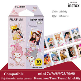 delta printer NZ - Instax Mini Film Melody 10 Sheets fr Instax Mini 9 8 8+ 7s 70 90 25 Instant Polariod Camera Smartphone Printer SP-2 SP1