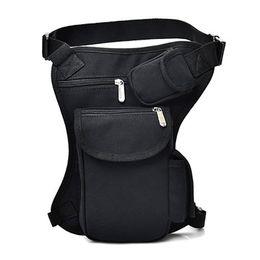 $enCountryForm.capitalKeyWord Australia - Cycling Canvas Waist Bag Outdoor Tactical Multi-function sports gym designer fannypack Leg Bag Leisure Sports Fishing Gear Bag