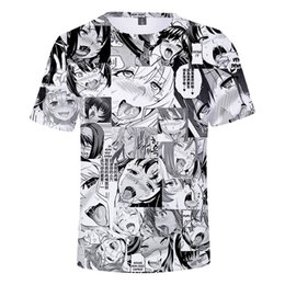$enCountryForm.capitalKeyWord UK - Fashion men's short-sleeved T-shirt trend anime 3D printing pattern design unisex loose casual short-sleeved T-shirt wholesale