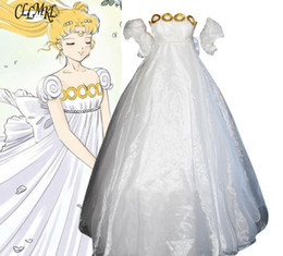 Wholesale sailor costumes for women for sale – halloween Sailor Moon Cosplay Costume Dress Tsukino Usagi Costume For Women Halloween