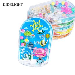 10PCS Cartoon Pin Ball Game Toy Kids Happy Birthday Party Favor Souvenirs Baby Shower Return Gift Pinata Goody Bag