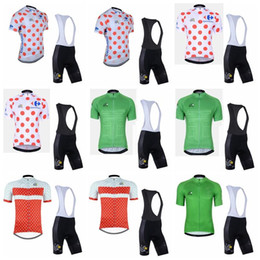 $enCountryForm.capitalKeyWord Australia - Tour de France team Cycling Short Sleeves jersey (bib) shorts sets cycling clothing breathable outdoor mountain bike Sportwear 90432J