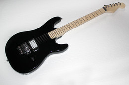 $enCountryForm.capitalKeyWord Australia - Factory Custom Black Body and Tremolo Electric Guitar with H Humbucking Pickups,Chrome Hardwares,can be customized.
