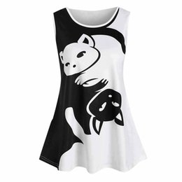 3d1a98ccbcab4 MUQGEW 2019 Fashion Female shirt Tank top Women Summer Plus Size Sleeveless  Slim Print Vest Tank Top O-Neck Cute Streewear