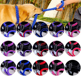$enCountryForm.capitalKeyWord Australia - Fashion 15 Colors Dog Nylon Collars Strong Durable Collar for Dogs Solid Color Pet Leashes Outdoor Training Leads Chihuahua 10E