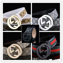 $enCountryForm.capitalKeyWord Australia - men and women M buckle brand Belts High Quality Designer Luxury Belt For Men And Women Genuine Leather Belt Gold Silver Buckle...