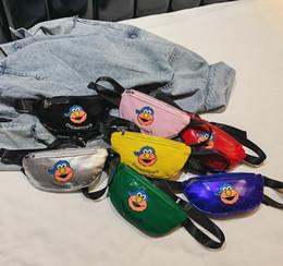 Bolsa de pecho para niños tendencia hombro lindo bolsa de mensajero hombres y mujeres bebé de dibujos animados de moda pequeño bolso de pecho