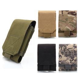 army backpacks camo 2019 - 5.5-6.0 inches Holster MOLLE Army Camo Camouflage Bag Hook Loop Belt Pouch Holster Cover Case For Mobile Phone Smartphon
