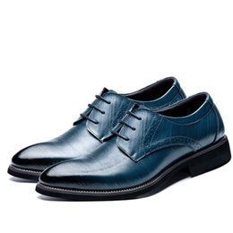 $enCountryForm.capitalKeyWord Australia - Large Size 37-48 High Quality Oxfords Leather Men's Shoes Fashion Casual Pointed Top Formal Business Male Wedding Dress Shoes