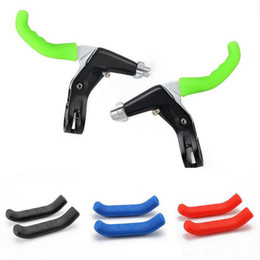Bicycling Gear NZ - Household Sundries Bicycle Brake Handle Cover Bike Silicone Sleeve Universal Bicycle Protective Gear MTB Mountain Bike Anti-Skid Protector C