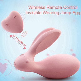 $enCountryForm.capitalKeyWord Australia - Wowyes Usb Charge Rabbit Female Message Wireless Control Vibrator Love Egg Dual Strong Power Sex Toys For Woman Abult Erotic Toy S627