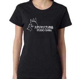 $enCountryForm.capitalKeyWord NZ - Women's Tee Studio Ghibli Tshirt Women Tops Japanese Harajuku Cartoon T Shirt Cute Graphic Tee Shirt Tops Black White Size S - Xxl