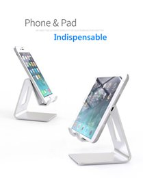 $enCountryForm.capitalKeyWord NZ - Universal Aluminum Metal Mobile Phone Tablet Holder Desk Stand for iPhone XR XS MAX X 8 7 Plus Samsung S9 S8 plus ZTE LG Huawei RetailBOX