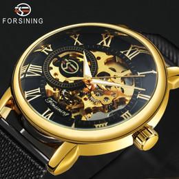 $enCountryForm.capitalKeyWord Australia - FORSINING Mens Watches Top Brand Luxury Mechanical Skeleton Dial ULTRA THIN Mesh Strap Unisex Fashion WINNER Wrist Watch for Man C19011001
