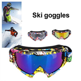 Colors Goggles Ski Australia - Ski Goggles Durable Anti Fog Riding Snow Mountain Antifogging 3 Colors Snowmobiling Wind Mirror Goggles 2018 UV Protection