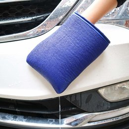 Wholesale Car Wash Magic Clay Bar Mitt Car Clay Cloth Auto Care Cleaning Towel Microfiber Sponge Pad Cloth Detailing