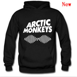 Discount rock roll clothes Arctic Monkeys Hoodies Men Hoodie Man Sweatshirt For Mens Women Sound Wave Indie Rock And Roll Band Brand Clothing Stree