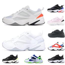 b62b0583a753e 2019 New Fashion M2K Tekno Old Dad Mens Women Running Shoes Fashion Best  Quality Triple Black White Grey Sports Designer Outdoor Shoe 36-45