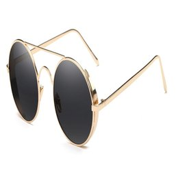0fe0ae960 Prince round mirrored sunglasses online shopping - Round Lady Sunglasses  Big Frame Retro Men Fashion Colorful