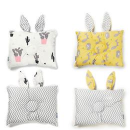 $enCountryForm.capitalKeyWord Australia - 2019 Infant Anti Roll Cotton Cushion Baby Pillows Prevent Flat Head Positioner Pillow Newborn Rabbit Ear Baby Pillow
