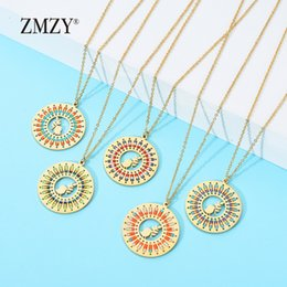 gold peace pendants Australia - ZMZY Beads DIY Fashion Jewelry Gold Color Stainless Steel Peace Dove Femme Necklaces & pendants Pigeon Leaf Necklace Collares