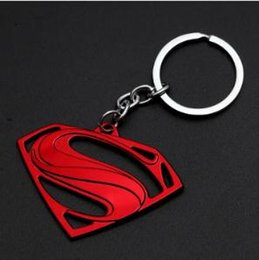 red batman figure Australia - 19styles Avengers Captain America Keychain Superhero Star Shield Pendant Keyring Car Key Chain Accessories Batman Marvel KeyChain 04 jssl01