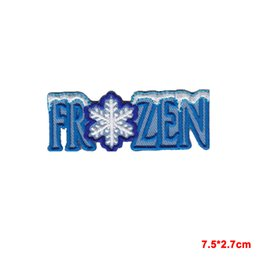 Gifts Sew For Christmas Australia - SNOWFLAKE Iron On Christmas gift Embroidered Applique Patch  Snowman Winter Games patch for Jacket Jeans Clothing Badge