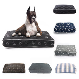 wood small houses Australia - Products Beds Mats Pet Puppy Pad Bench Sofa Lounger Bed Mat Small Medium Large Dog Pitbull House For Cat T200618