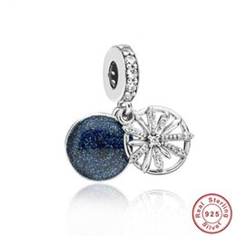 Zoudky New 100% 925 Sterling Silver Dazzling Fireworks Charm Original Womens Jewelry Suitable Charming Fashion Gift Beads & Jewelry Making
