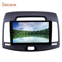 $enCountryForm.capitalKeyWord NZ - Android 9.0 9 inch HD Touchscreen Car GPS Navigation Radio for 2007-2011 Hyundai Elantra with USB Bluetooth Carplay Support Car DVD
