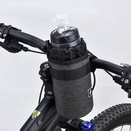 water bottle bags Australia - Winter Bicycle Water Bottle Insulated Bag Carrier Pouch Portable Cycling Handlebar Kettle Bag Bike Handlebar Stem Outdoor #355791