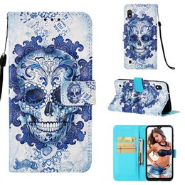 pouch huawei g8 2019 - 3D Owl Skull Leather Case For Samsung Galaxy M10 M20 A10 A20 A30 A40 A70 A50 Huawei Y6 2019 LG G8 ThinQ V50 Redmi NOTE7