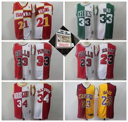 $enCountryForm.capitalKeyWord Australia - Retro Mitchell & Ness Basketball Jerseys 23 Michael JD 33 Larry Bird 21 Dominique Wilkins 34 Hakeem Olajuwon 33 Scottie Pippen LeBron James