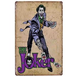 Chinese  hot joker cube idea british 20*30cm blond beauty motorbicycle Tin Sign Coffee Shop Bar Restaurant Wall Art decoration Bar Metal Paintings manufacturers